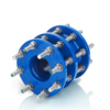 Adjustable-length pipe couplings