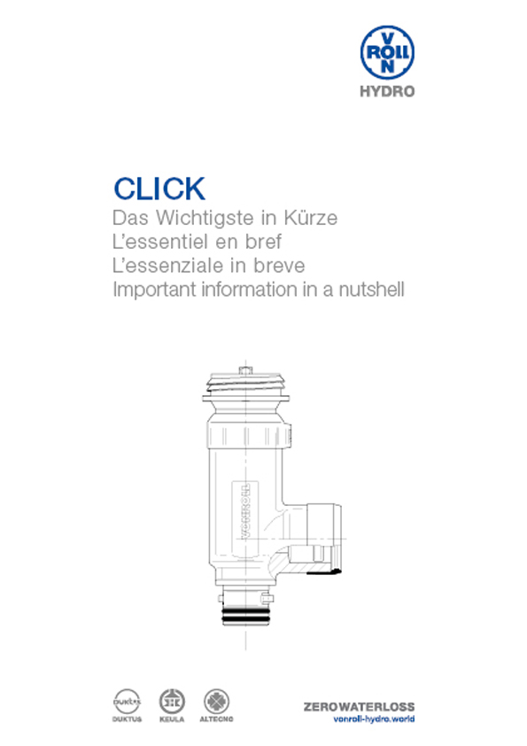 Download the important information in a nutshell of CLICK as a PDF