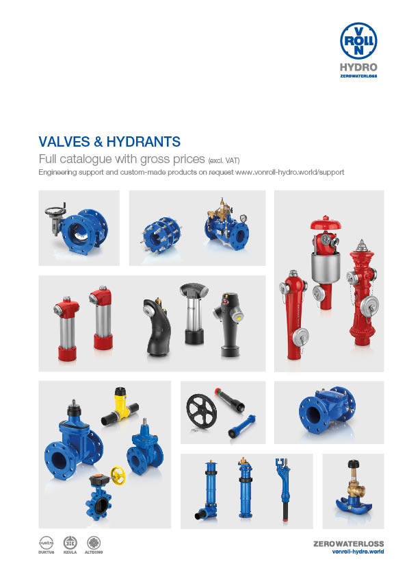 Valves and Hydrants Download catalogue as PDF