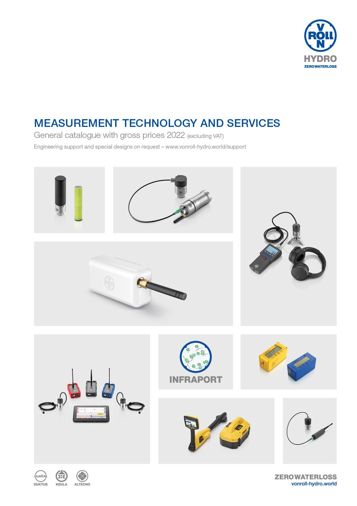 Download the measurement technology brochure as a PDF