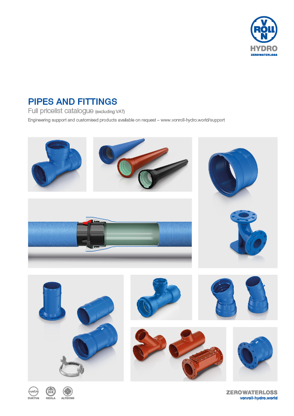 Pipes and Fittings Download catalogue as PDF